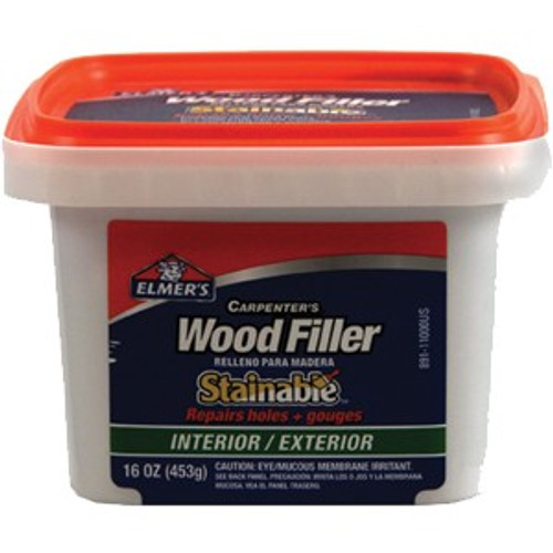 Elmers E891 Pt Carpenter Int/Ext Stainable Wood Filler