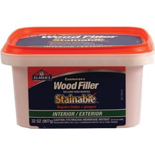 Elmers E892 Qt Carpenter Int/Ext Stainable Wood Filler