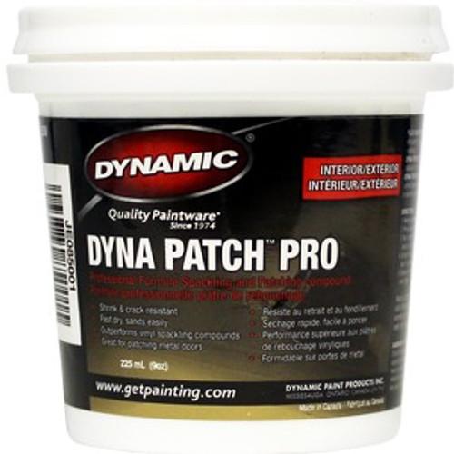 Dynamic JE085001 225ml (9 oz.) Dyna Patch Pro Spackling Compound