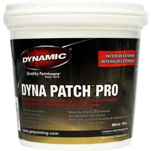 Dynamic JE085002 450ml (15.22 oz.) Dyna Patch Pro Spackling Compound