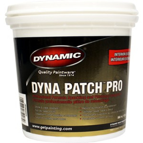 Dynamic JE085003 860ml (29 oz.) Dyna Patch Pro Spackling Compound