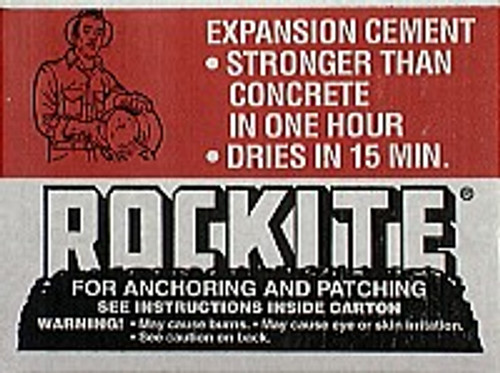 Rockite 10025 25Lb Box Anchoring & Patching Cement