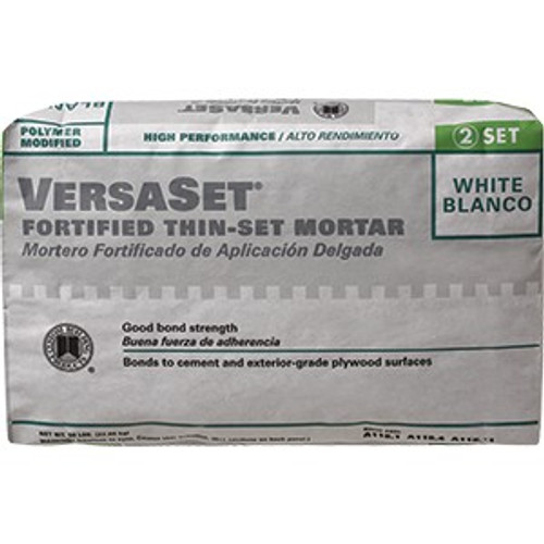 Custom VSW50 50Lb White Versaset Thin Set Mortar