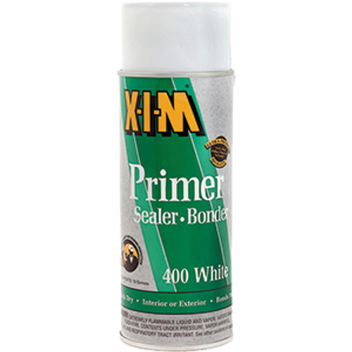 XIM 11025 16OZ 400W WHITE PRIMER SEALER BONDER QUICK DRY SRRAY