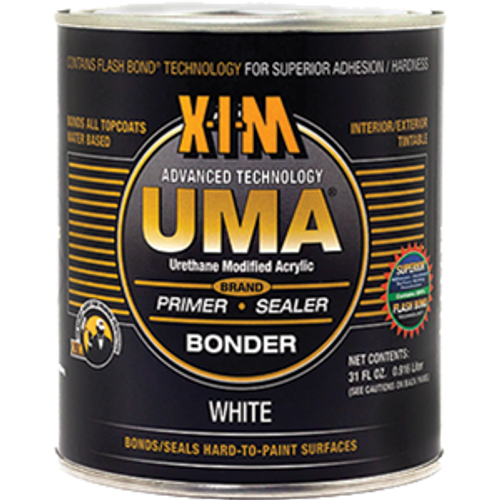 XIM 11052 QT WHITE UMA WATER REDUCIBLE ACRYLIC BONDER