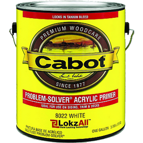 CABOT 8022 1G WHITE PROBLEM SOLVER LOXALL ACRYLIC PRIMER