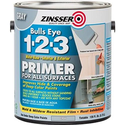Zinsser 285085 1G Gray Bullseye 1-2-3