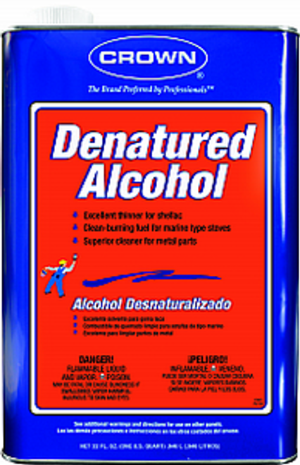 CROWN CR.DA.M.64 QT DENATURED ALCOHOL