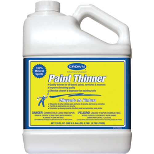 CROWN CR.PT.P.41 1G PAINT THINNER PLASTIC BOTTLE MULTI-BARRIER
