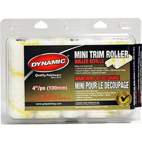 """Dynamic HM005315 100mm x 11mm (4"""" x 3/8"""") Mini Trim Refill 10Pk"""