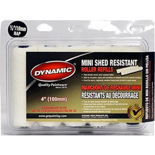 "Dynamic HM005601 100mm x 10mm (4"" x 3/8"") Mini Shed Resistant Refill 10Pk"
