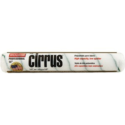 """Wooster R194 14"""" Cirrus 1/2"""" Nap Roller Cover"""
