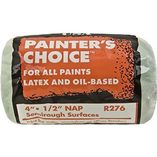 "Wooster R276 4"" Painters Choice 1/2"" Nap Roller Cover"