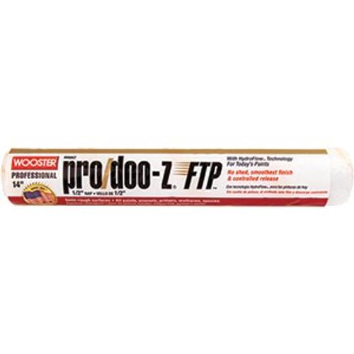 "Wooster RR667 14"" Pro/Doo-Z FTP 1/2"" Nap Roller Cover"