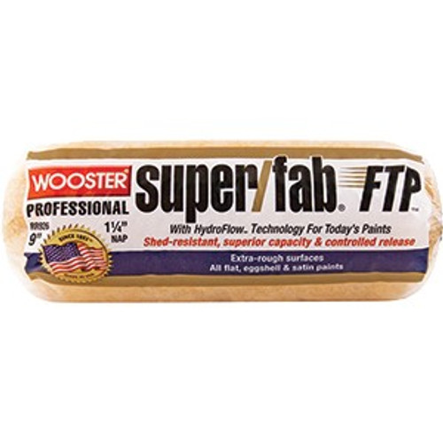 """Wooster RR926 9"""" Super/Fab FTP 1-1/4"""" Nap Roller Cover"""