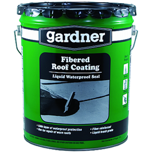GARDNER GIBSON 0105-GA 5G BLACK FIBERED ROOF COATING