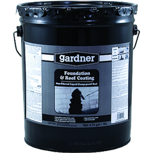 GARDNER GIBSON 0125-GA 5G BLACK NON FIBERED FOUNDATION & ROOF COATING
