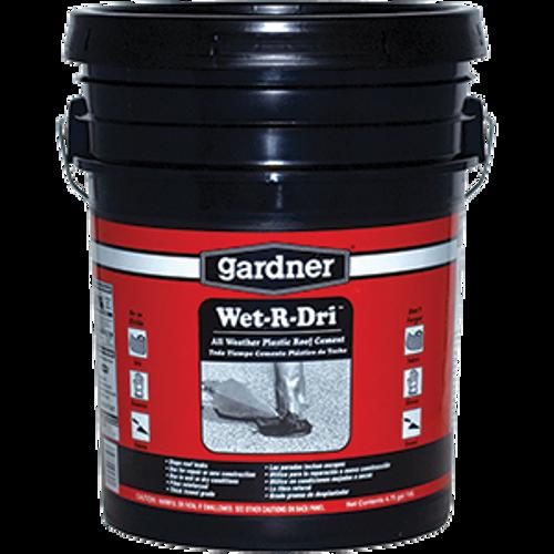 GARDNER GIBSON 0375-GA 5G WET-R-DRI ROOF CEMENT
