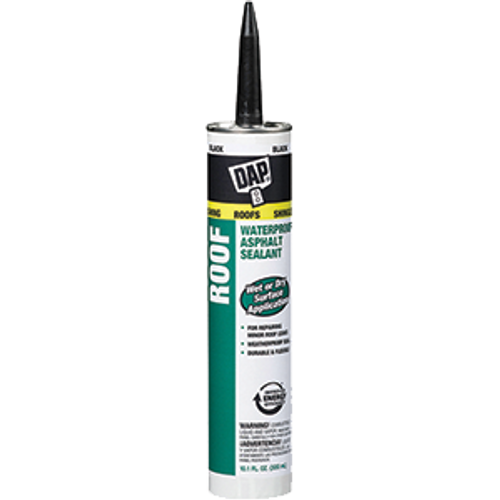 DAP 18268 10.3OZ BLACK TITE ROOF SEALANT