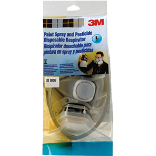 3M R53P71-CP Large 5000 Series Paint Spray Respirator - 6ct. Case