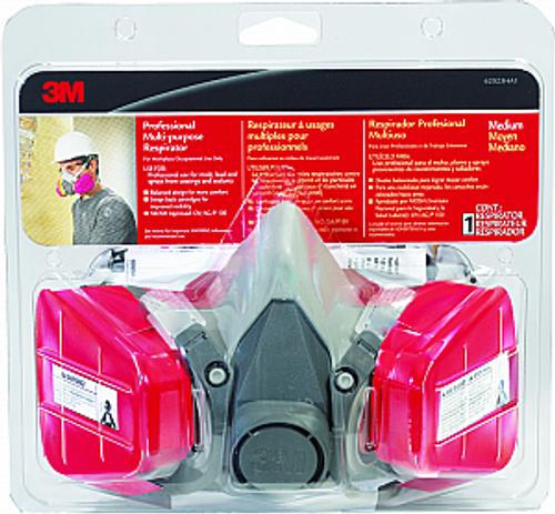 3M 62023HA1-A Pro Multi Purpose Respirator - 4ct. Case
