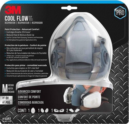 3M 7512PA1-A-PS Medium Professional Series Respirator Assembly