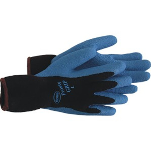 Boss 8439L Large Frosty Grip Rubber Dipped Glove