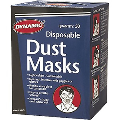 Dynamic AH002100 Disposable Dust Mask 50Pk