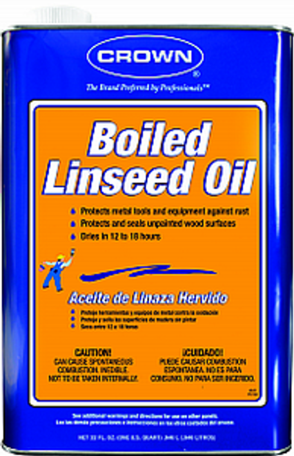 CROWN BL.M.64 QT BOILED LINSEED OIL