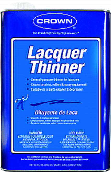 CROWN CR.LT.M.64 QT LACQUER THINNER