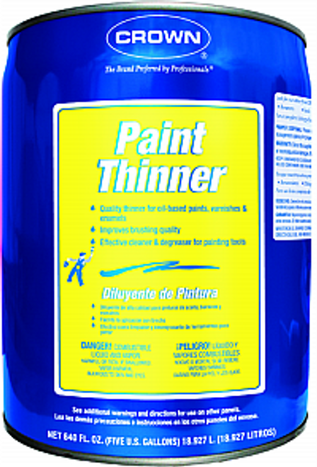 CROWN CR.PT.M.05 5G PAINT THINNER