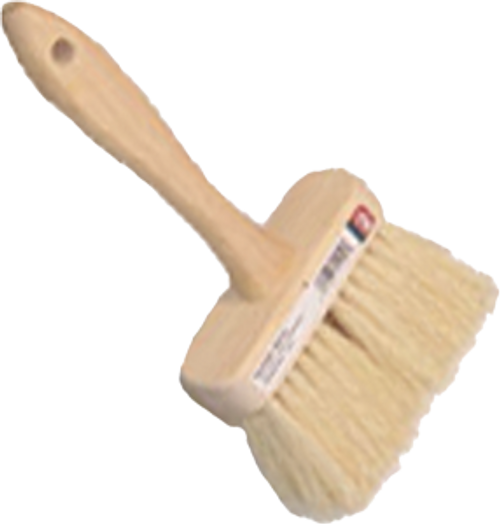"DQB 11940 4-3/4"" WHITE TAMPICO MASONRY BRUSH"