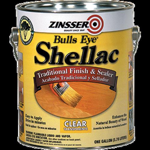 ZINSSER 00301 1G 3LB CUT BULLSEYE CLEAR SHELLAC
