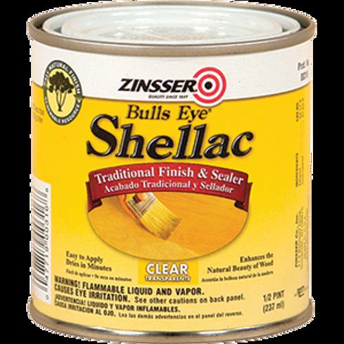 ZINSSER 00316 .5PT BULLSEYE CLEAR SHELLAC