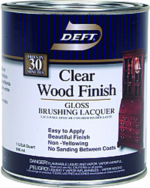 DEFT 010-04 QT GLOSS CLEAR WOOD FINISH
