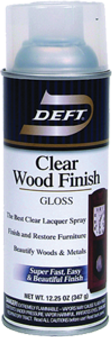 DEFT 010-13 13OZ GLOSS CLEAR WOOD FINISH SPRAY