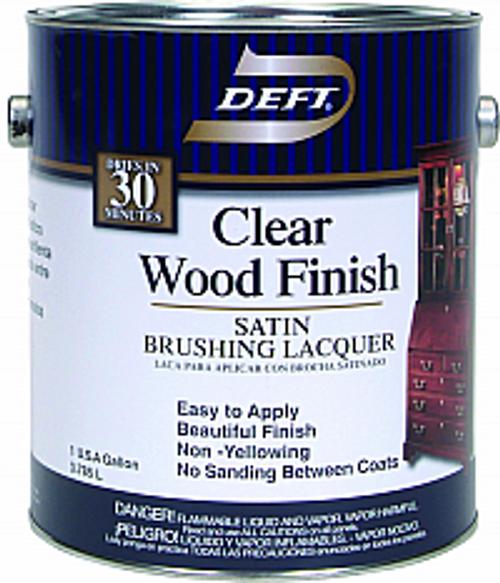 DEFT 017-01 1G SATIN CLEAR WOOD FINISH