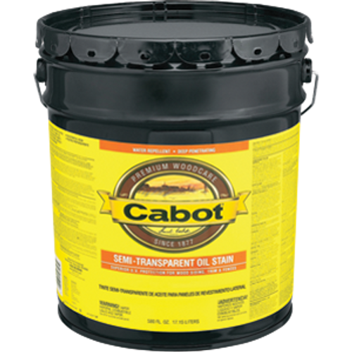 CABOT 0306 5G NEUTRAL BASE SEMI TRANSPARENT OIL BASED STAIN