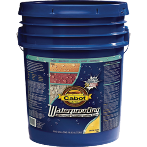 CABOT 1000 5G CRYSTAL CLEAR WATERPROOFING SEALER