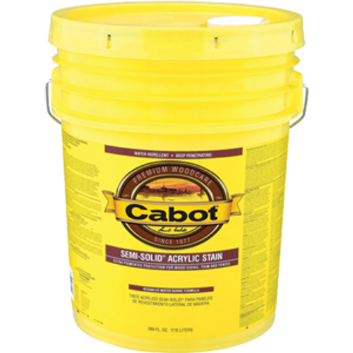 CABOT 1106 5G NEUTRAL BASE SEMI SOLID WATER BASED STAIN