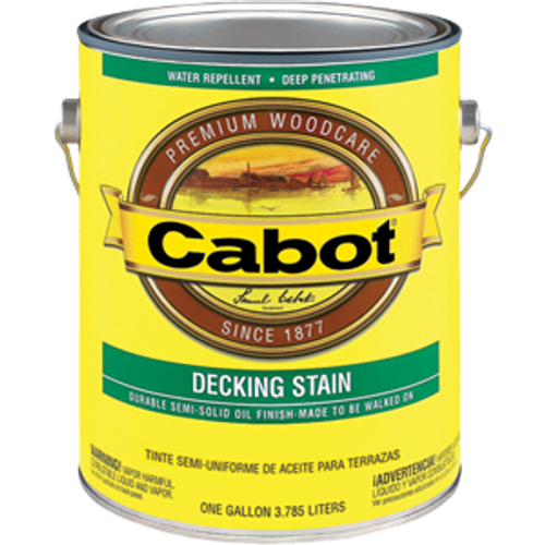 CABOT 1406 1G NEUTRAL BASE DECK & SIDING SEMI SOLID STAIN