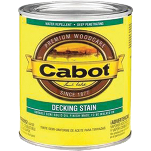 CABOT 1407 1G DEEP BASE DECK & SIDING SEMI SOLID STAIN