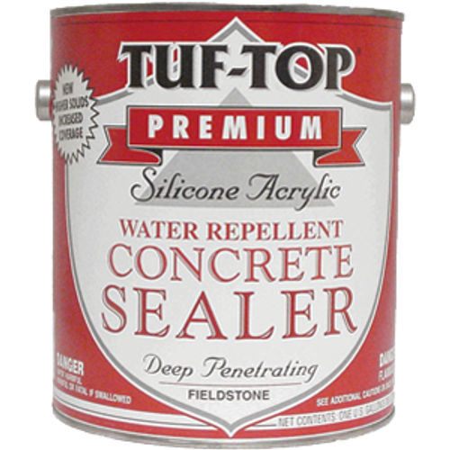 TUF-TOP 12-061 1G PEWTER GRAY SILICONE ACRYLIC CONCRETE SEALER