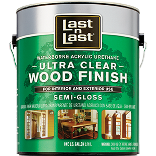 ABSOLUTE 14001 1G SEMI GLOSS ULTRA CLEAR LAST N LAST WATERBORNE WOOD FINISH 275 VOC