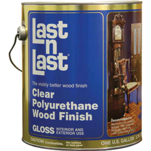 ABSOLUTE 50001 1G GLOSS LAST N LAST POLYURETHANE WOOD FINISH 550 VOC