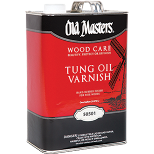 OLD MASTERS 50501 1G TUNG OIL VARNISH