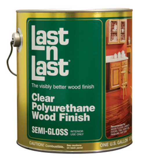 ABSOLUTE 51004 QT SEMI GLOSS LAST N LAST POLYURETHANE WOOD FINISH 550 VOC