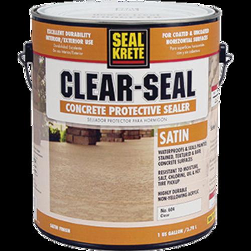 SEAL KRETE 604001 1G CLEAR SEAL PREMIUM SATIN SEALER 98.2 VOC