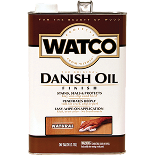 WATCO 65731 1G NATURAL DANISH OIL