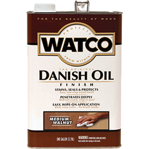 WATCO 65931 1G MEDIUM WALNUT DANISH OIL